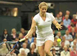 Clijsters at Wimbledon