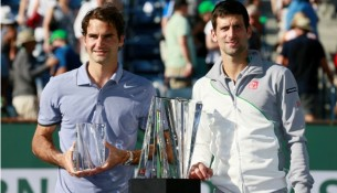 Federer v Djokovic Indian Wells