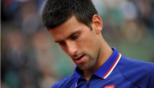 Djokovic wrist injury
