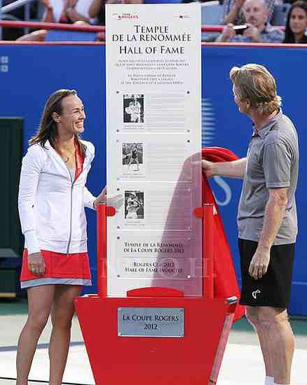 Hingis and Courier