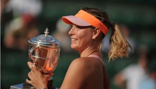 Maria Sharapova wins French Open