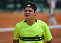 Milos Raonic French Open
