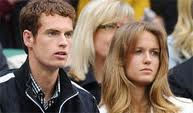 Murray and Girlfriend