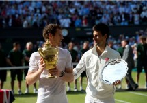 Novak Djokovic Andy Murray Wimbledon