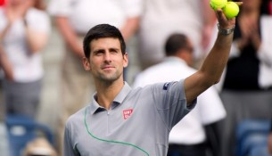 Novak Djokovic The Boodles 2014