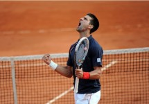 Novak Djokovic French Open