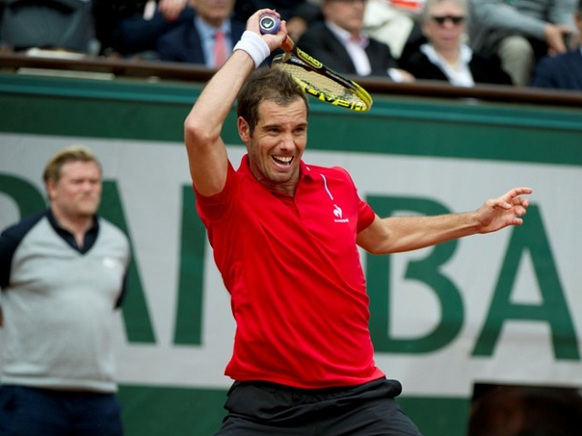 Richard Gasquet French Open 2014