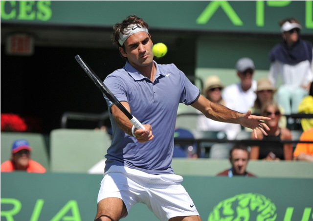 Roger Federer Miami Masters 2014
