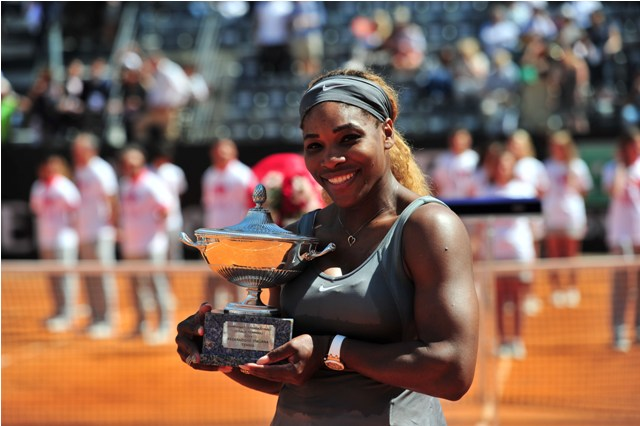 Serena Williams Rome champion