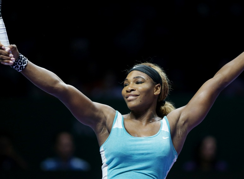 Serena Williams Singapore
