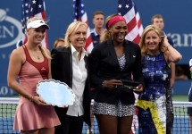 Serena Williams v Caroline Wozniacki US Open