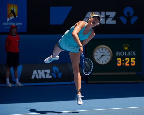 Sharapova Australian Open