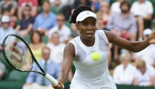 Wimbledon, 23/6/2014  WILLIAMS, Venus (USA)   © Ray Giubilo