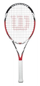 WRT7155 Steam 105S Front 141x300 Wilson Tennis Rackets Reviews   New Steam Wilson Racquets For 2013