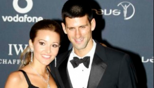 djokovic girlfriend
