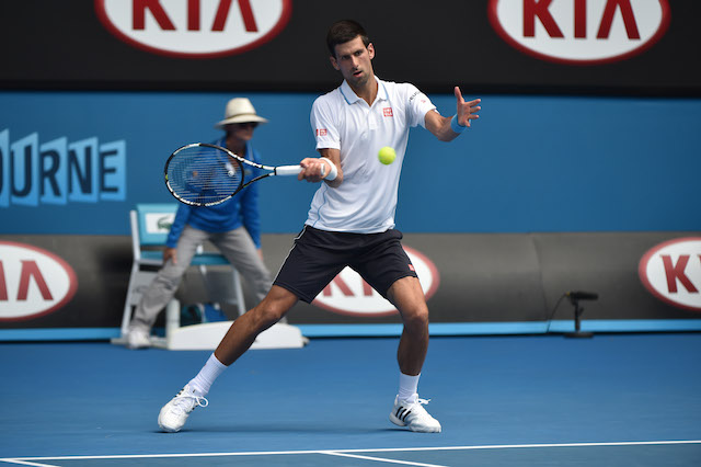 Djokovic Australian Open 2015 Melbourne, 22/1/2015DJOKOVIC, Novak (SRB)Photo Ray Giubilo