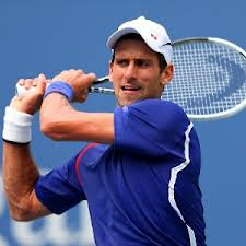 Djokovic Completes the Follow through – The Rotation Allows the Torso to  Come Through. A Complete Swing 53b432b6e086e