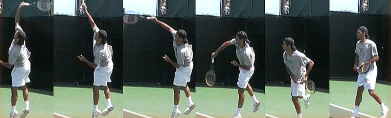 federer serve followthrough Roger Federer Serve Analysis and Slow Motion