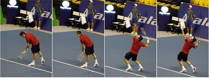 federer serve Roger Federer Serve Analysis and Slow Motion