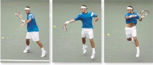 federer38 300x128 Analyzing Roger Federer's Forehand Technique