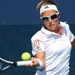 USA TENNIS US OPEN FIRST ROUND DOUBLES CLIJSTERS