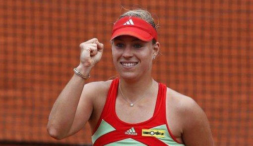 Kerber was a semi-finalist at the US Open last year