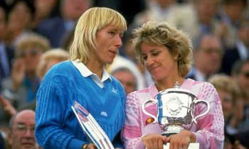 navratilova vs evert