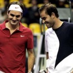 The best? ... Roger Federer and Pete Sampras in 2007.