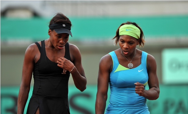 Paris, 02-06-2010 Serena & Venus WILLIAMS (Usa) Photo RAY GIUBILO