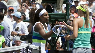 serena williams vs sharapova