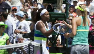 serena williams vs sharapova roland garros