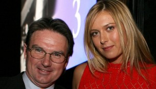 sharapova splits from connors