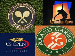 slam logos2 United States tennis: Where have the elite men tennis players gone