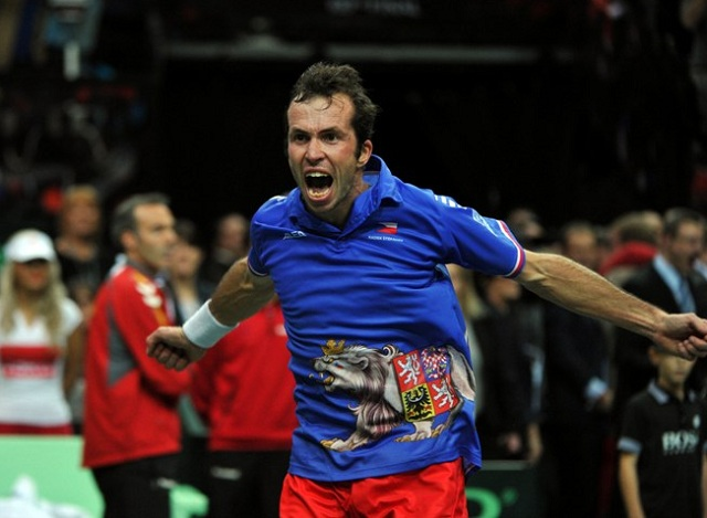 Czech Republic Davis Cup 2013 winners